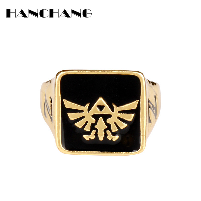 Anime Jewelry The <font><b>Legend</b></font> <font><b>of</b></font> <font><b>Zelda</b></font> <font><b>Rings</b></font> for Men Woman Cosplay Finger <font><b>Ring</b></font> image
