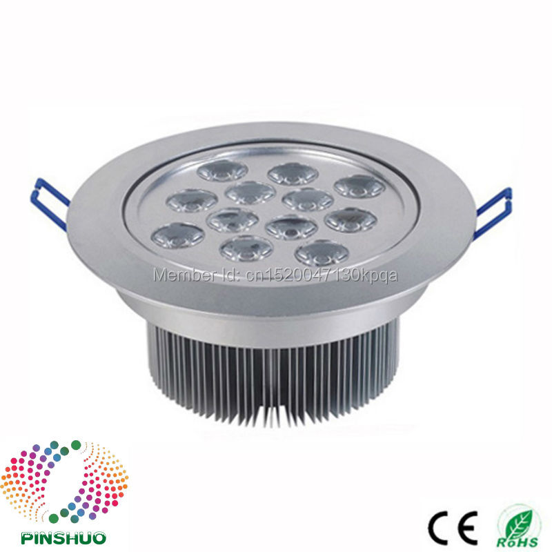 (60PCS / Lot) 3 ans de garantie 18W 7W 12W Dimmable LED Downlight LED - Éclairage LED