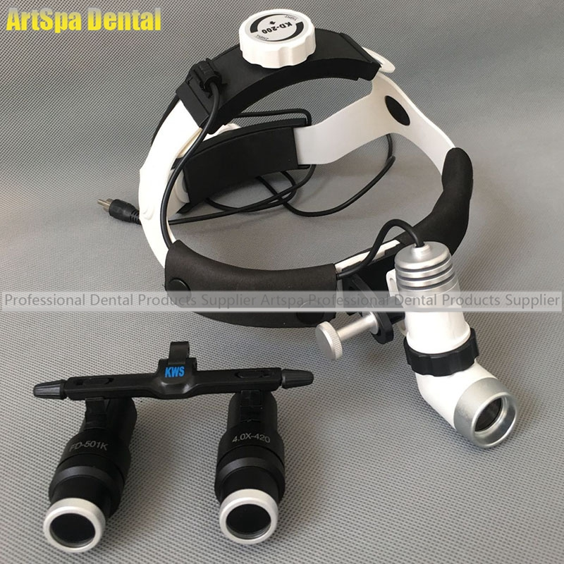 3W LED Surgical Head Light Dental Headlight AC/DC +Kepler Magnifier Dental  Glass Loupes (6.5X) In Teeth Whitening From Beauty U0026 Health On  Aliexpress.com ... Awesome Design