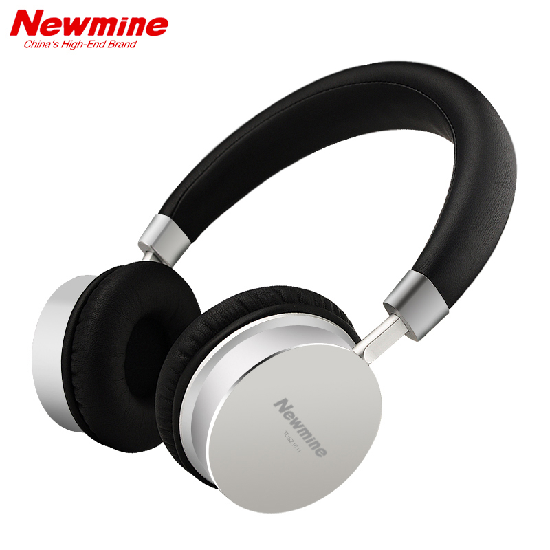 NEWMINE TB109 Wireless Headphones Bluetooth Bass Stereo Headphone with Mic Handsfree Headset For PC mobile phone Mp3 300mAh 40mm wireless bluetooth stereo headset headphone with mic for cellphone pc mp3 mp4 bluetooth headset speaker