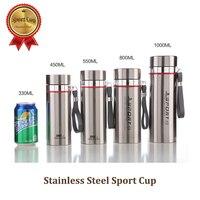 プロ品質のステンレス鋼スポーツカップスポーツ真空ボトル最高のコーヒー陶器1000ミリリットル茶コンテナ