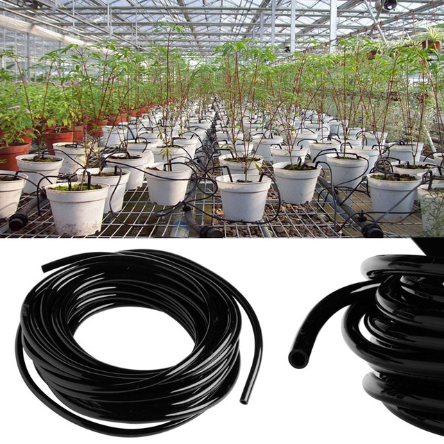 5M/10M/20M Watering Tubing PVC Hose Pipe 4/7mm For Micro Drip Irrigation System