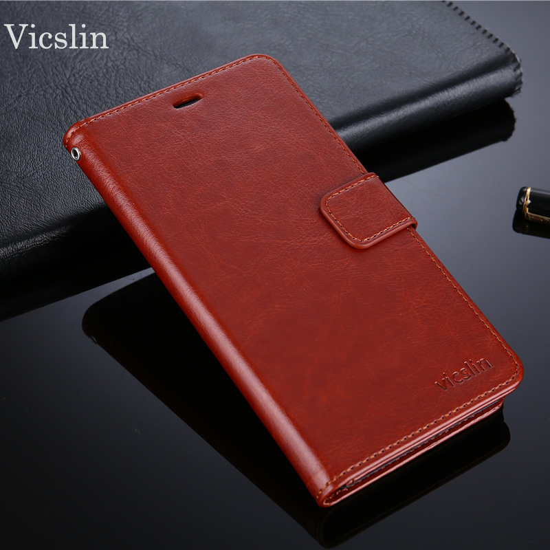 Wholesale 10pcs VICSLIN Case For Oppo A71 Case High Quality Leather Flip Case For Oppo A71 Book Style Stand Cover For Oppo A71
