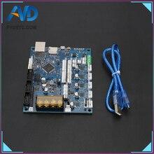 Son Sürüm Klonlanmış Düet 2 Maestro Gelişmiş 32bit Anakart Destek 4.3 ''5'' 7 ''Dokunmatik Ekran Için 3D yazıcı CNC makinesi