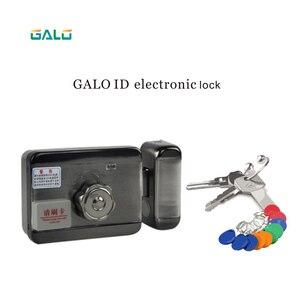 Image 3 - Электронный RFID замок на дверные ворота/умный электрический ударопрочный замок, магнитная Индукционная система контроля доступа к входной двери с 15 метками