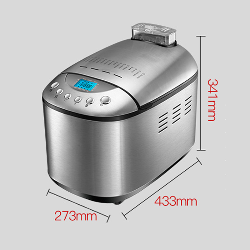 1.25kg Home Automatic Bread Machine AB-3SF16 Multi-function Intelligent Dough Mixer Bread Maker 15h Timing/15 Menu 220v 905w 1PC