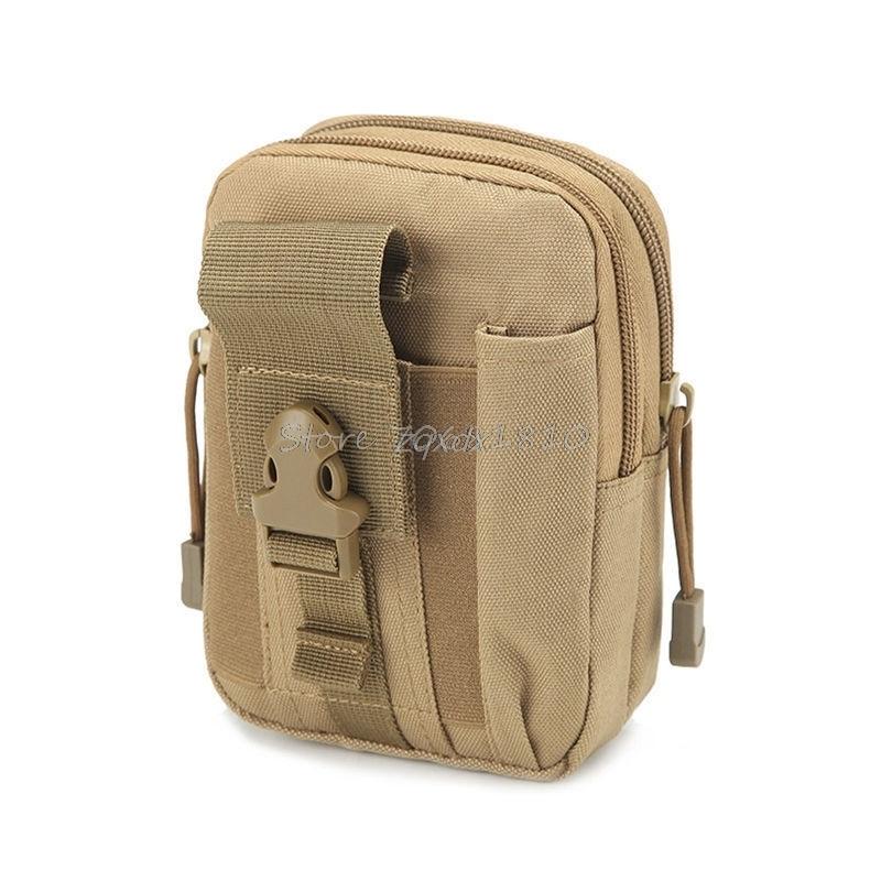 För Taktisk hölster Militär Molle höft midje bälte väska - Reservdelar och tillbehör för mobiltelefoner - Foto 5