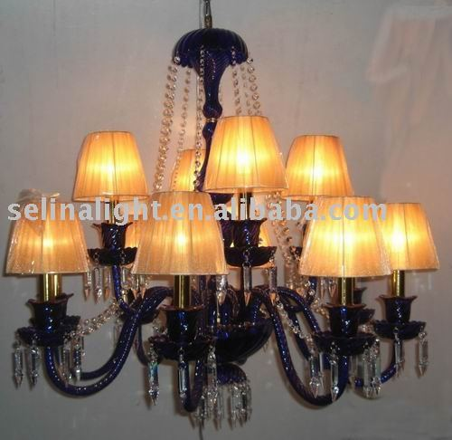 Free Shipping ! The Glass Chandelier - For Hotel / Home / Restaurant | YK054-8+4