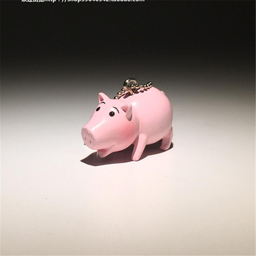 24 шт./лот 4 см оригинальный История игрушек Хамм рисунок игрушки высокого качества История игрушек Хамм свинья небольшой рисунок подвесные ...