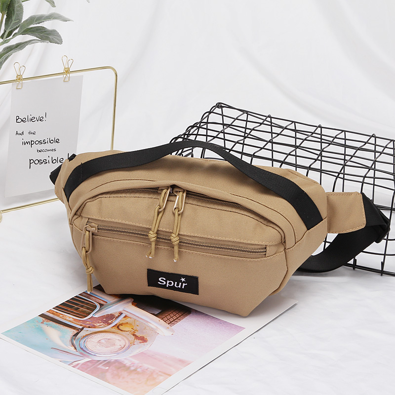 Fashion Famous waist bag New York Street Tide design brand style hip hop Letter belt men and women summer Waist Packs
