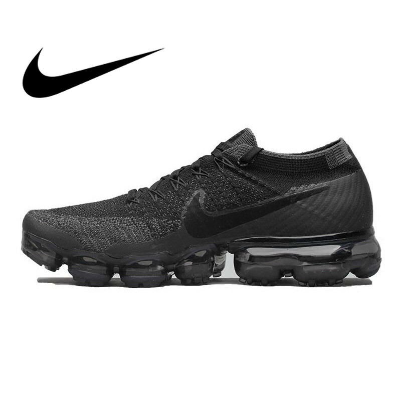Original authentic Nike Air VaporMax mens running shoes classic outdoor sports shoes breathable stretch 849558-007Original authentic Nike Air VaporMax mens running shoes classic outdoor sports shoes breathable stretch 849558-007