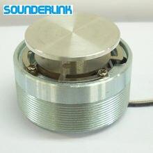 Sounderlink 44mm 50mm 25w de alta potência vibração ressonância raw substituição alto-falante gama completa unidade baixo shaker altifalante diy