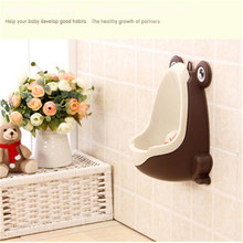Baby Potty Suction Cup Bowl Urinal for Children Standing Plastic Boys in Toilet Training Potties Chair Seats