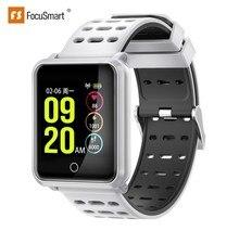 FocuSmart N88 Smart Watch Fitness Tracker Blood Pressure Heart Rate Monitor IP68 Waterproof Sport Smart Bracelet For IOS/Andri цена и фото