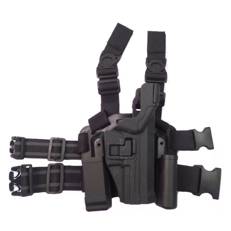 HK USP Compact Holster Tactical Leg Holster With Magazine Pouch Quick Draw  Military Hunting Pistol Gun Holster For HK USP Gun