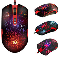 LAVAWOLF M701 Optical Gaming Mice 7 Programmable Buttons Professional Game Mouse mouse wireless mouse mouse gamer