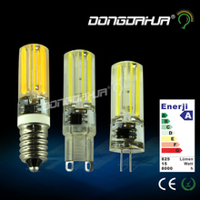 mini 2508 g4 g9 e14 led lamp led light bulb 220 v cob led light 360 angle beam lights lamp to replace the halogen lamps bulbs