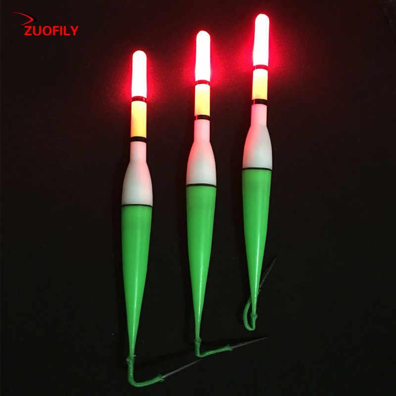 Gorąca sprzedaż 15 CM LED Fishing Float elektryczny Float Light + bateria głębinowa pływak wędkarski Ocean Boat sprzęt wędkarski