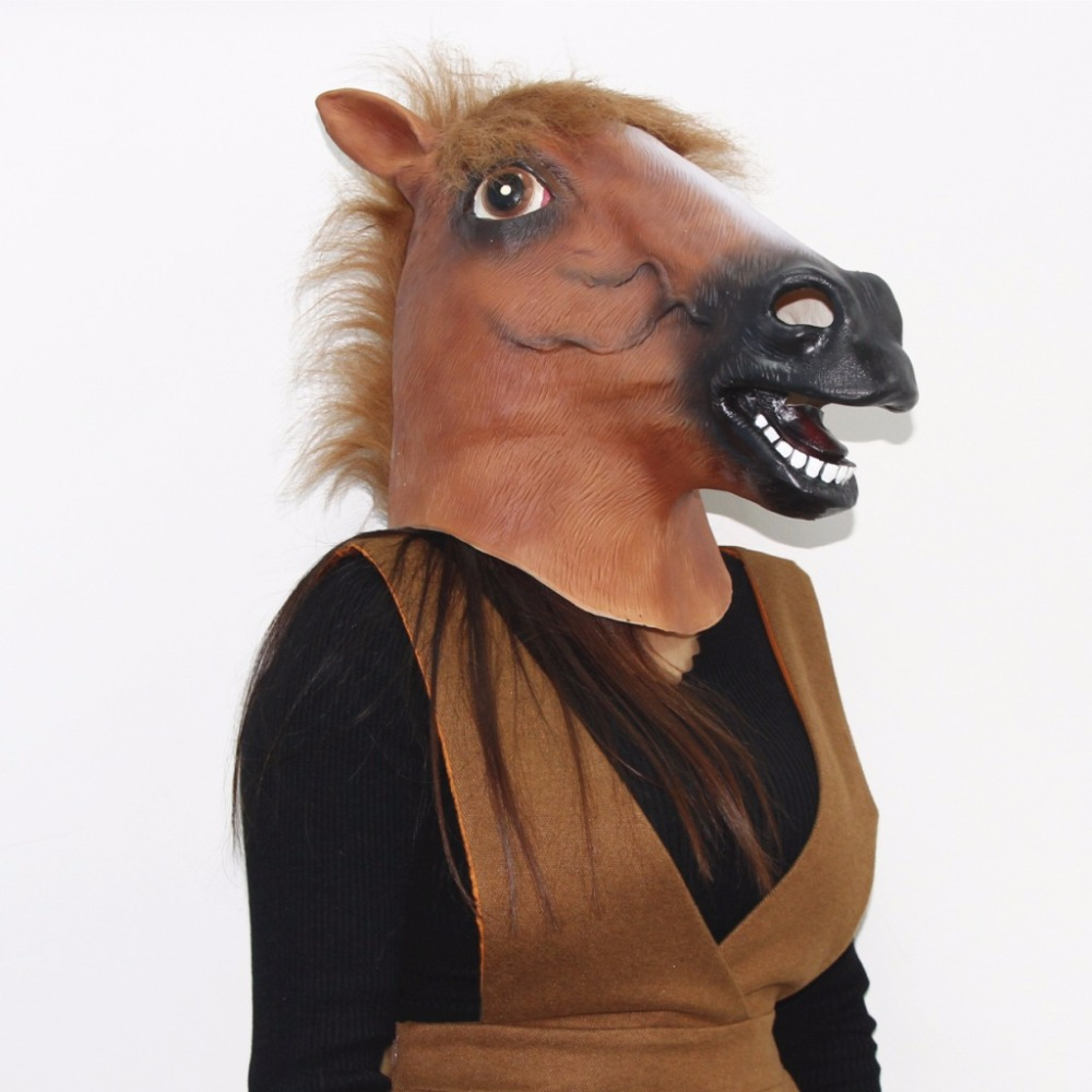 Popular Horse Mask Halloween-Buy Cheap Horse Mask Halloween lots ...