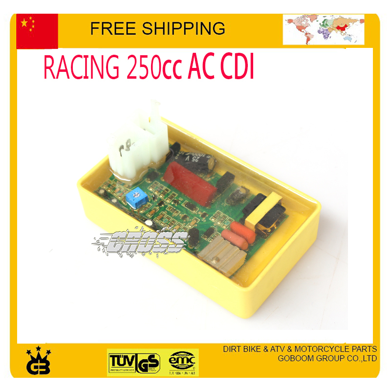 HP CDI high performance AC CDI 250cc motorcycle Dirt bike Pit Bike ATV parts accessories free shipping