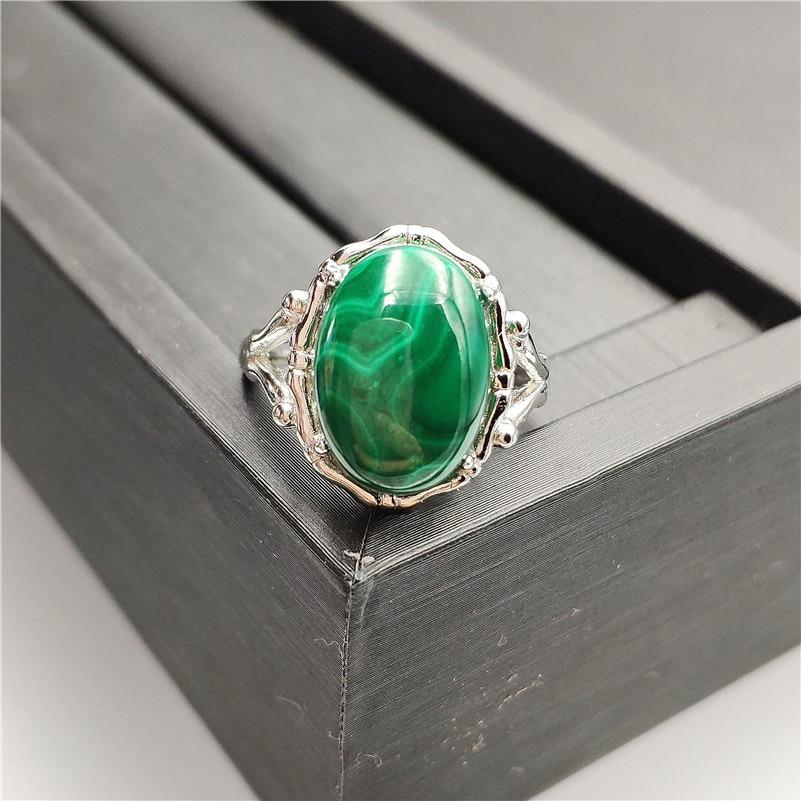 Natural Green Malachite Ring (5)
