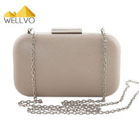 Women Clutch Purses Female Mini Chain Handbag Bridal Wedding Skull Ring Design Evening Bag Dinner Party
