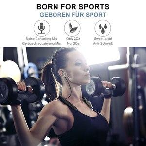 Image 2 - קנאי H7 Bluetooth ספורט אוזניות עם מגנט עמיד למים אלחוטי אוזניות Neckband אוזניות עם מיקרופון עבור iPhone אנדרואיד