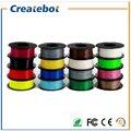 Pluma Impresora 3D Filamento PLA 1.75mm 3mm Plástico Caucho Consumibles Material 3d filamento impresora 3d pen 17 colores