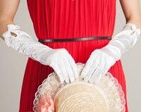 Kadın Açık Yaz Şerit Güneş Kremi Uv Koruma Eldiven womens