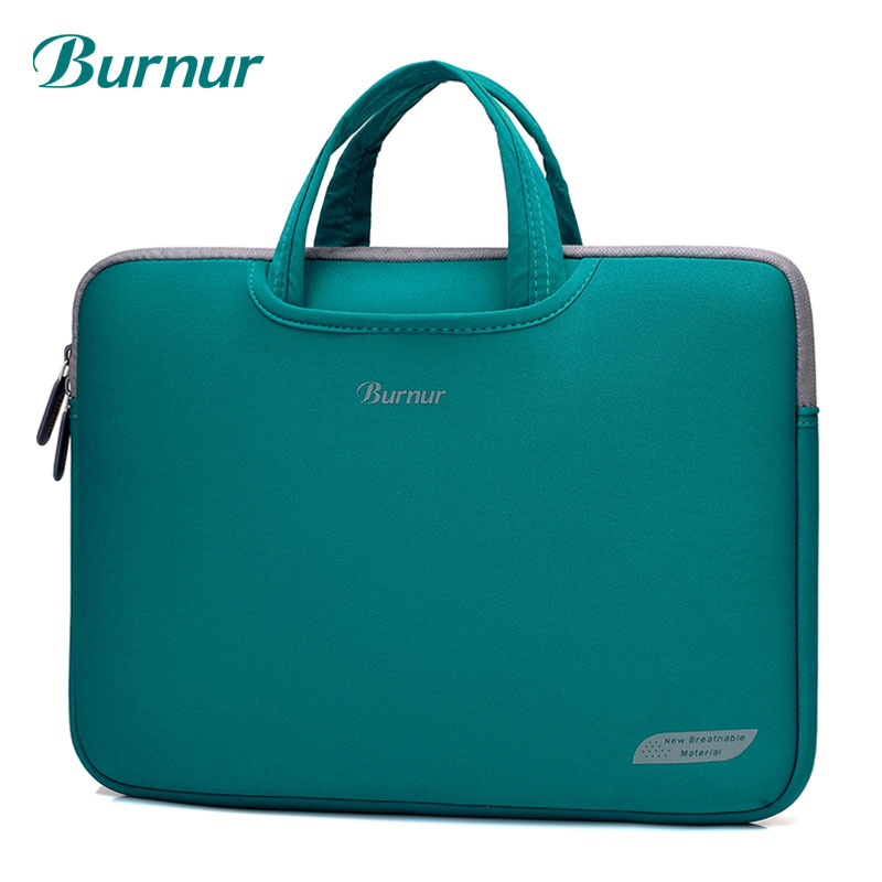 501715952ee1 US $14.84 29% OFF|Luxury Waterproof Nylon laptop bag case sleeve bag 11 12  13 13.3 14 15.4 15.6 inch High Quality notebook bag sleeve for women-in ...