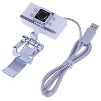 6MP 30fps Ad Alta Definizione Notebook Web Camera Video Recorder Full Obiettivo di Vetro Clip-on Webcam con Microfono per il Computer Portatile Computer