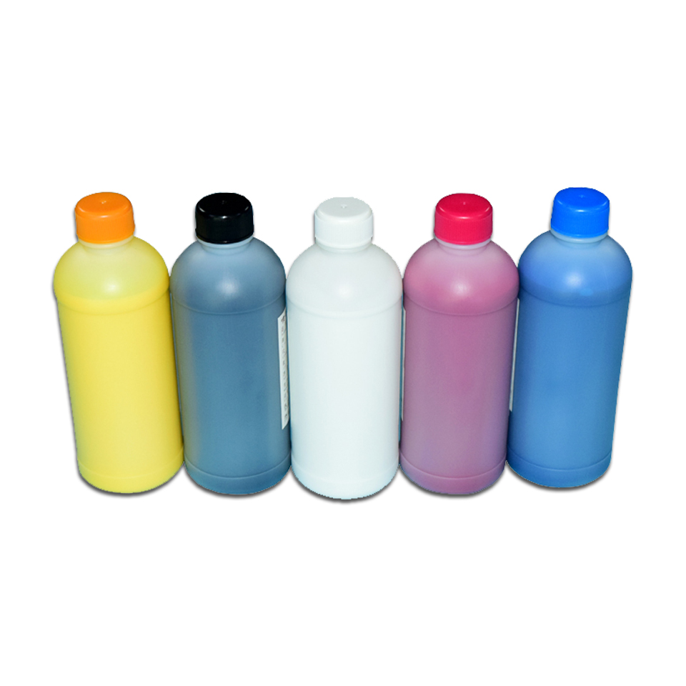 1000ML DTG Printing Ink for Epson Textile Ink for Epson T50 T60 1390 1400 1430 R1900 R2000 R3000 F2000 3880 3890 3850 3800C 3800