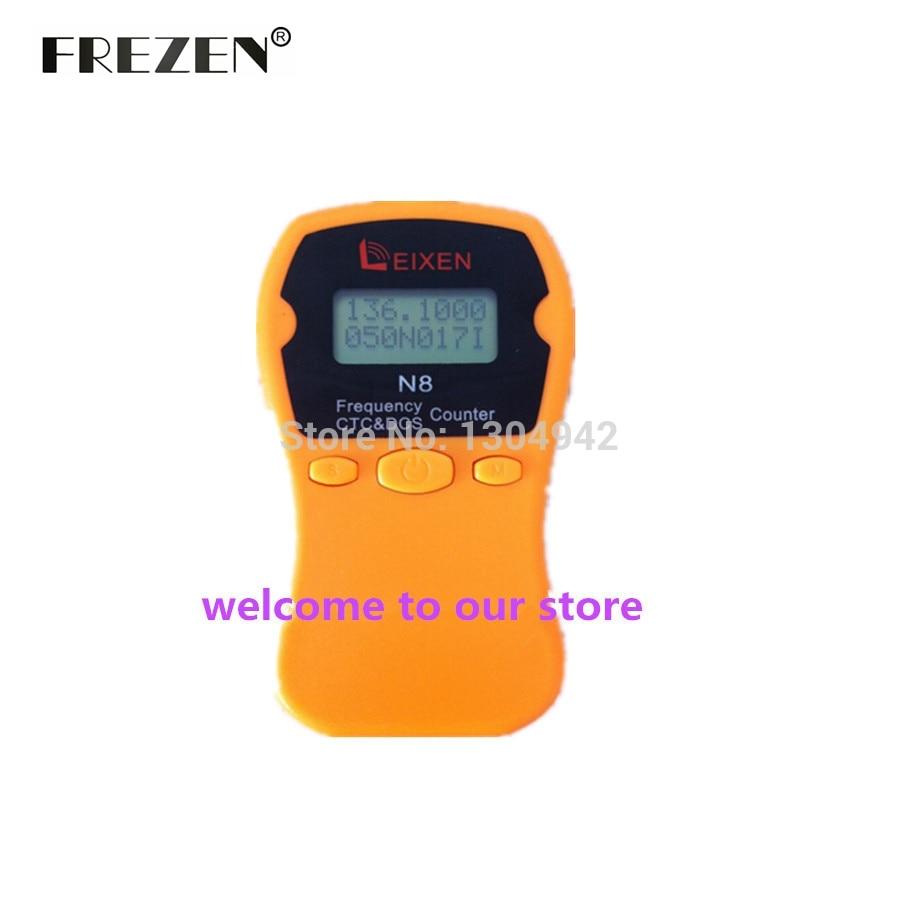 outlet store bee49 d4ebb Mano N8 frecuencia contador meter traje para ham radio walkie talkie  herramienta CTCSS DCS