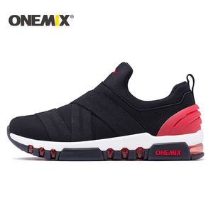 Image 5 - Onemix 2018 new men running shoes hight sneakers breathable sneakers for women outdoor trekking walking running shoes for men
