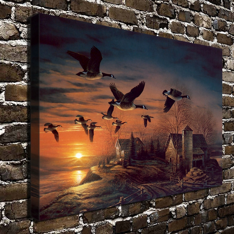 Online get cheap terry redlin paintings for Cheap framed prints online