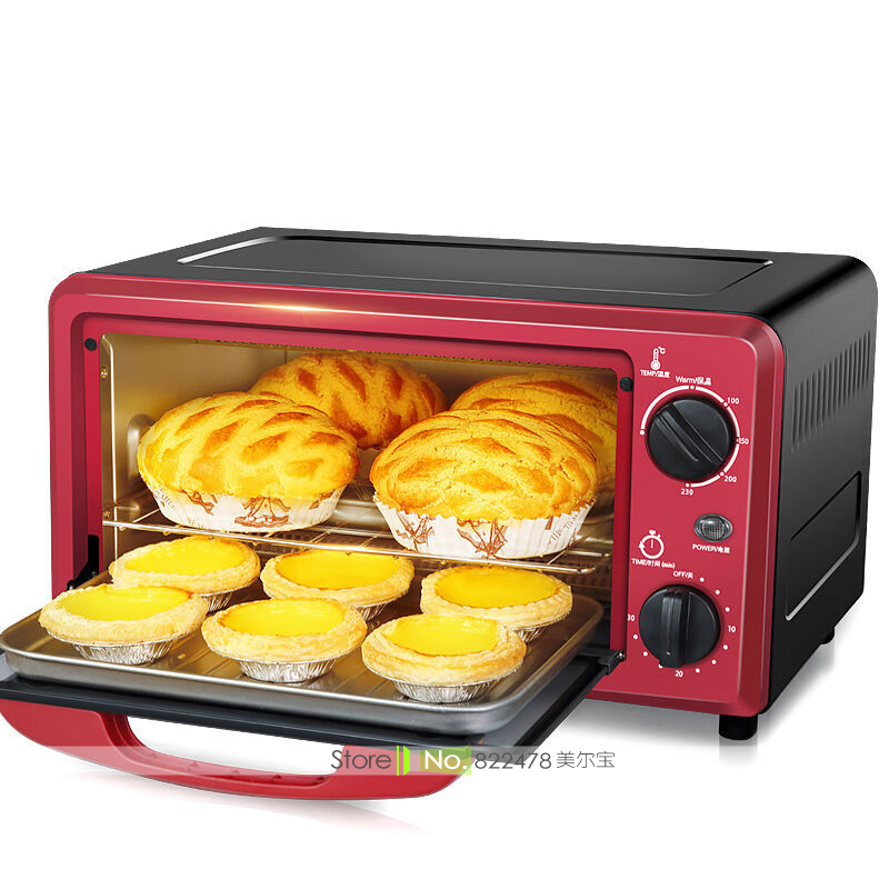 JZ26/1000W/12L Household Mini Multi Electric Oven/Precise Temprature Control Quality Electro Galvanize Thermal Insulation Coate цена и фото