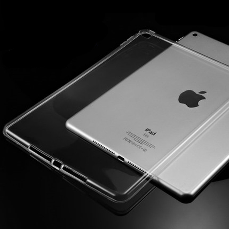 For Ipad 234 Soft TPU Skin Silicon Back Tabelt Case Cover Clear Transparent Case for Apple iPad 2 iPad 3 iPad 4 Capa Para+Pen soft silicon tpu case for apple ipad pro 9 7 back cover tablet ultra thin clear transparent fundas protective bags skin shell