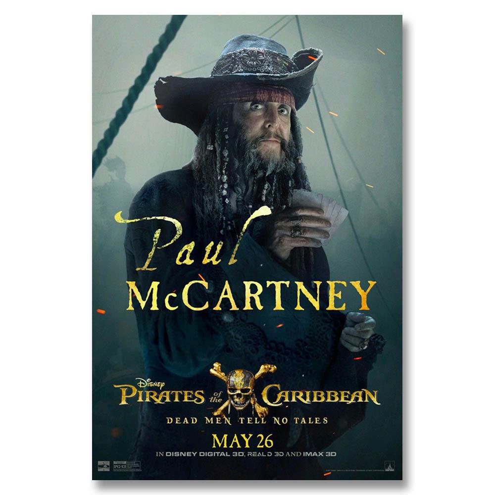 J3003 2017 Film Fluch Der Karibik Sir Paul Mccartney Kunstdruck