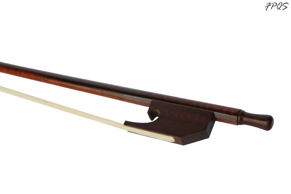 4/4 Cello Bow Baroque Style High Quality Snakewood Letterwood Frog and Stright Stick Well Balance FP114/4 Cello Bow Baroque Style High Quality Snakewood Letterwood Frog and Stright Stick Well Balance FP11