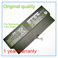 Original 7.4V 42Wh Li-polymer battery NP900X1B for  AA-PLPN6AR battery +Free shipping