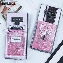 Areia Movediça líquido Glitter Case para Samsung Galaxy Note 9 A5 2017 S8 S9 Plus J5 J7 J3 2016 A3 A7 2017 Borda S7 A8 Plus 2018 Covers