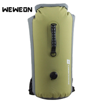 Large Capacity 25L 35L Outdoor River Trekking Bag Waterproof Backpack Water Swimming Drifting Bags Travel Storage Bag