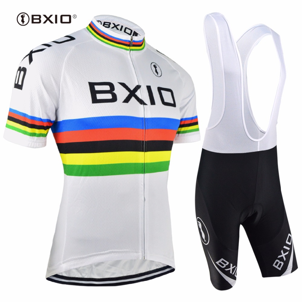 Bxio Cycling Sets Salopette Mountain Bike Velo Maillot Ciclismo Pro Tour Bicycle Italie Cuissard Cycliste Equipe