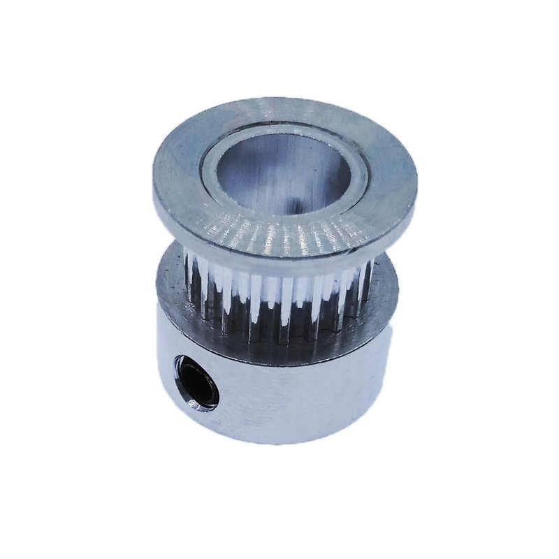 2GT 20 diş zamanlama kasnağı Alüminyum 3D Yazıcı Parçaları GT2 20 diş Delik 5mm 6mm Genişlik 6mm 9mm Parça Senkron Tekerlek Dişli