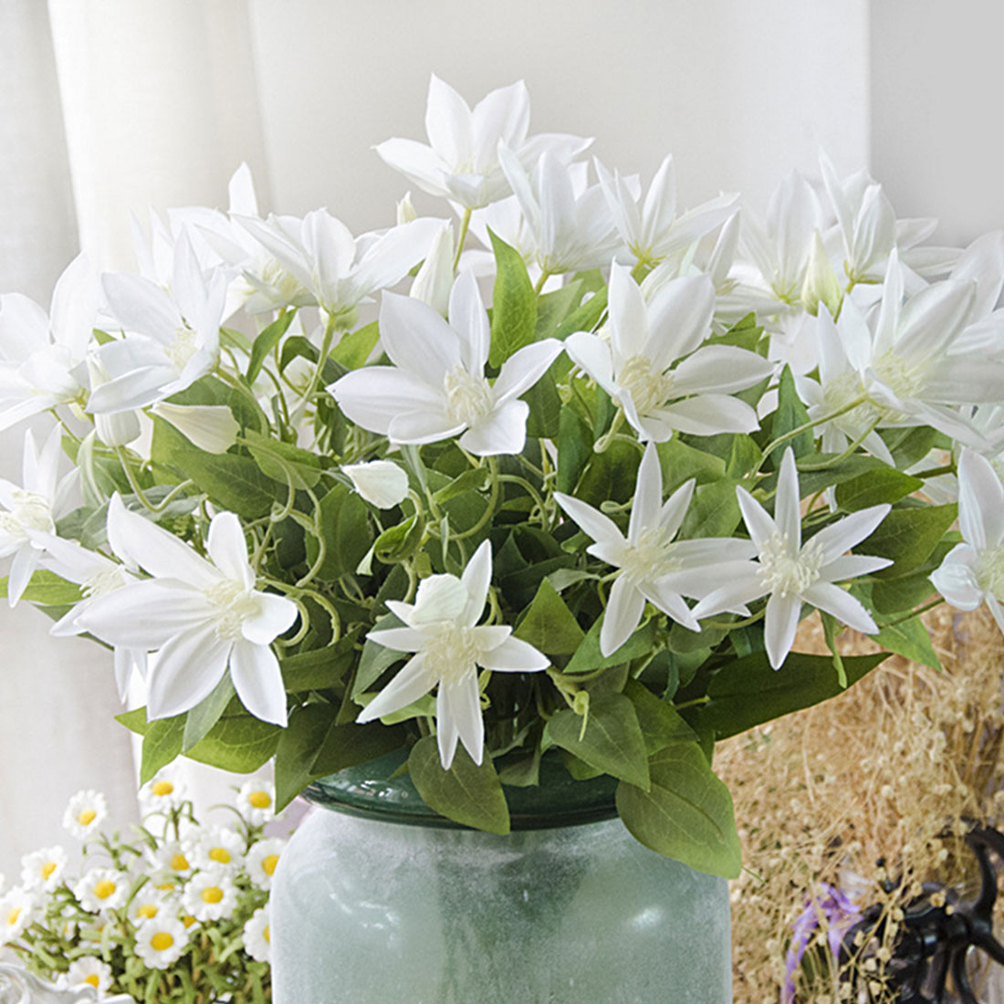 Buy Artificial Clematis And Get Free Shipping On Aliexpress