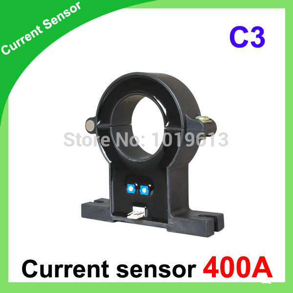 C3 DC/AC current sensor, Hall effect current transducer 400a split core hall sensor hall current sensor transducer current sensors output 4 20ma 0 5v 0 600a 38mm hole diamter