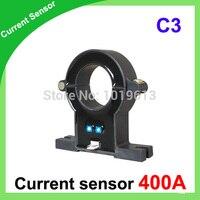 C3 DC/AC current sensor, Hall effect current transducer 400a split core hall sensor