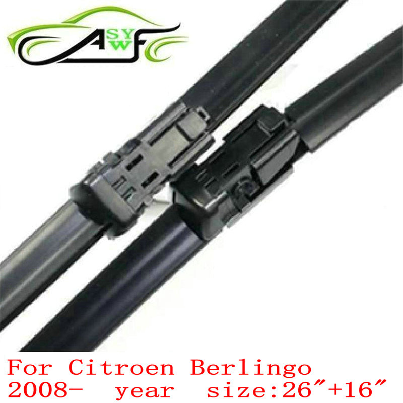 Free shipping car wiper blade for <font><b>Citroen</b></font> <font><b>Berlingo</b></font> (<font><b>2008</b></font> Onwards) 26