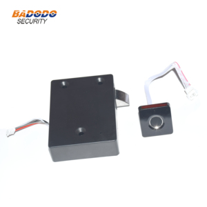Image 5 - Plastic Fingerprint cabinet door lock biometric electric lock with chargeable battery  for drawer locker cupboards