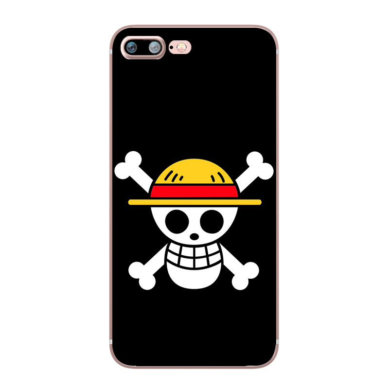 ONE PIECE Phone Case Japanese Anime Luffy Zoro Coque for Apple iphone 7 8 plus 6S X 5 6 5S SE 6PLUS Silicone Soft Clear TPU Capa (3)